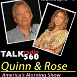 Join me on America's Morning Show with Quinn and Rose… Update: Listen