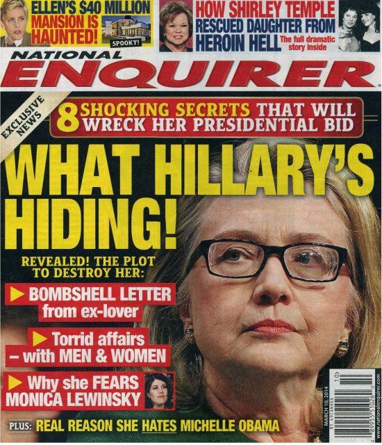 National Enquirer Headlines National Enquirer World